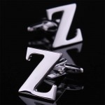 Буква Z стальная Запонки