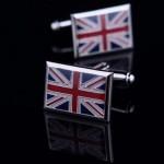 Флаг Великобритании Запонки
