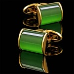 Зеленые запонки