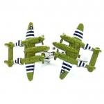 Военный самолет Запонки