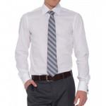 Dave Raball CLASSIC белая рубашка под запонки
